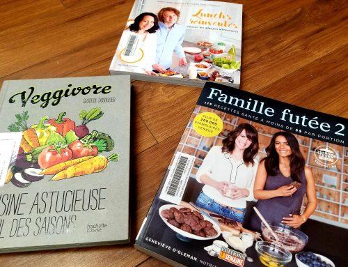 Idées de livres de recettes suite à la sortie de nouveau guide alimentaire canadien