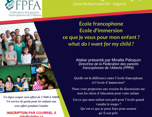 École francophone ou École d'immersion ?
