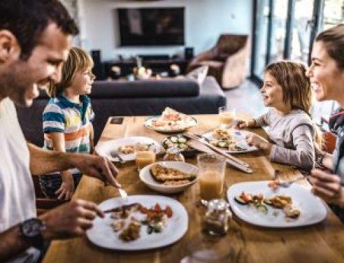Qu'en est-il des moments de repas avec nos enfants…