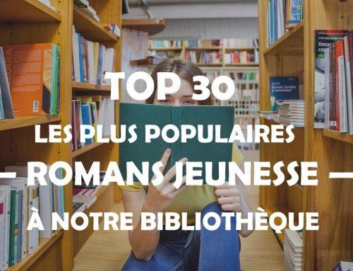 Top 30 de Romans Jeunesse les plus populaires au sein de notre bibliothèque